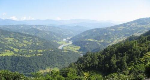 Arun valley trek photo