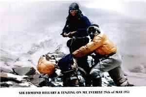 Edmund Hillary and Tenzing Sherapa photo