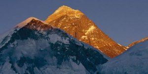 Everest in evening